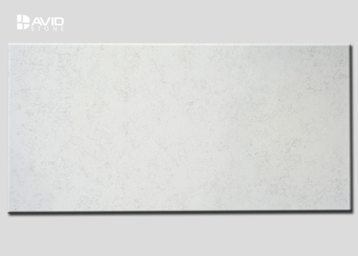 Chinese Quartz Stone Slab Non Scratched , Quartz Slab For Kitchen / Vanity