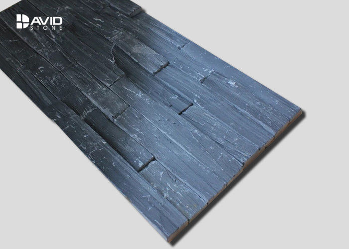 Decorative Slate Cultured Stone , Grey Slate Wall Cladding Abrasion Proof