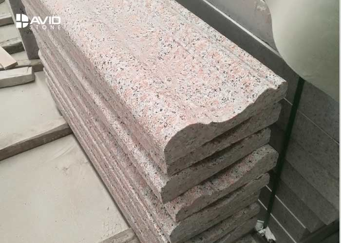 G561 Burned Granite Exterior Stone Wall Cladding High Compressive Strength