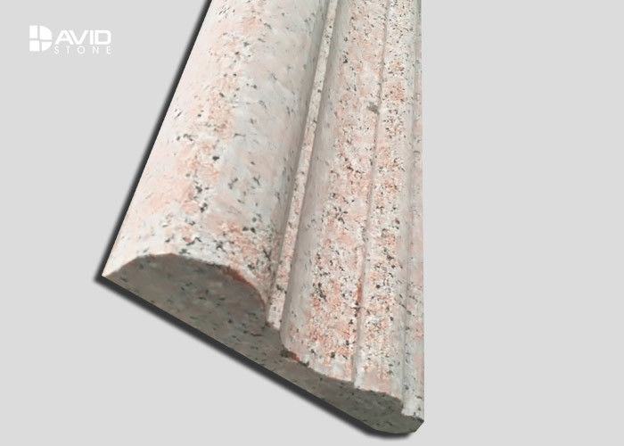 Burned G561 Exterior Granite Stone Wall Cladding Panels Abrasion Resistance