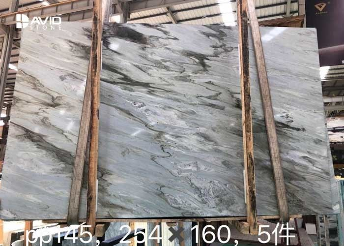 Special Green marble Ellas Cloud marble strong quality quarry owner